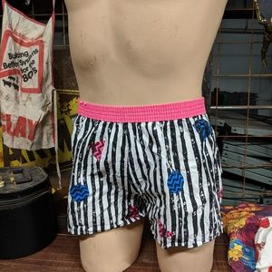 1990s Saved By The Bell Swimming Trunks Shorts